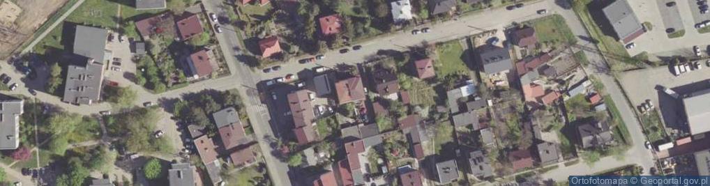 Zdjęcie satelitarne Kujawska ul.