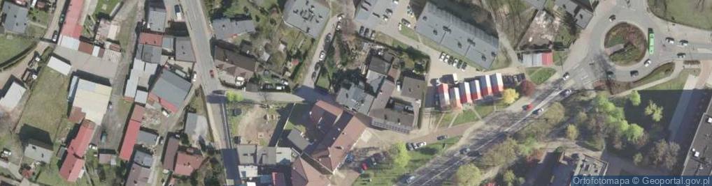 Zdjęcie satelitarne Kuźników ul.