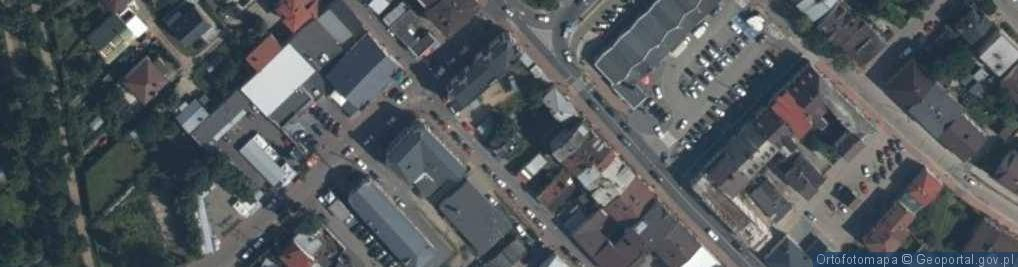 Zdjęcie satelitarne Kuśnierska ul.