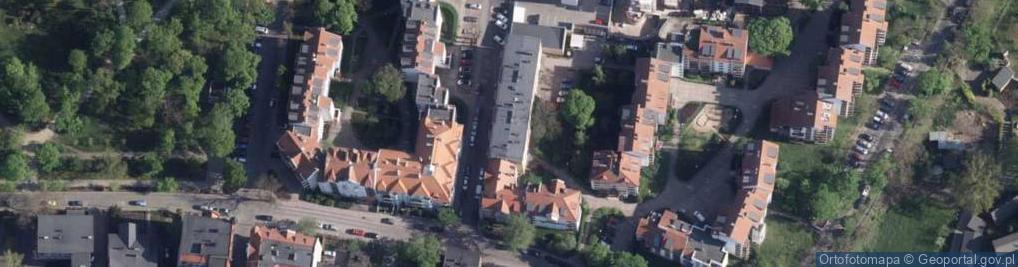 Zdjęcie satelitarne Kujota Stanisława, ks. ul.