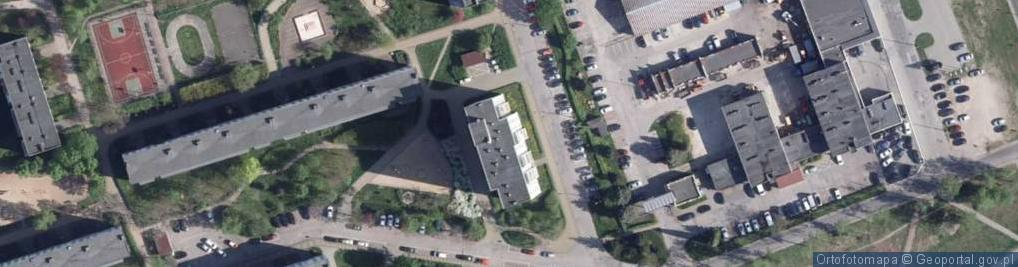 Zdjęcie satelitarne Kusocińskiego Janusza ul.