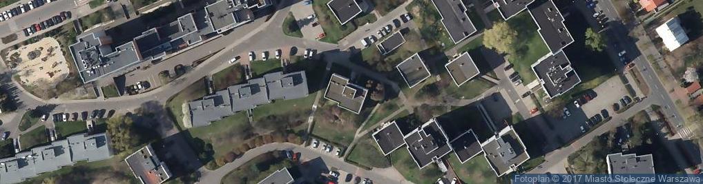 Zdjęcie satelitarne Kubickiego Jakuba ul.
