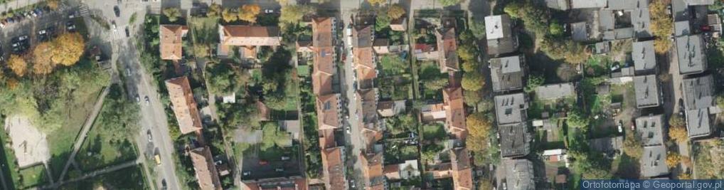 Zdjęcie satelitarne Kupki Zygfryda ul.