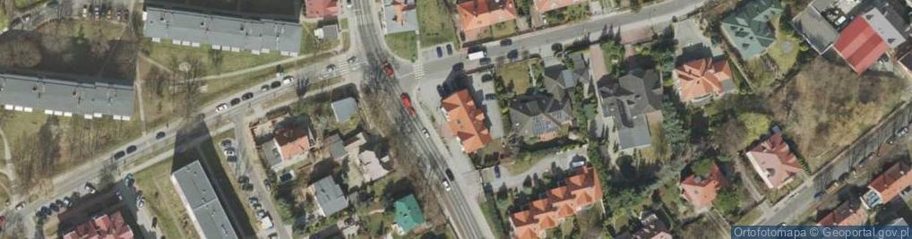 Zdjęcie satelitarne Kukułcza ul.