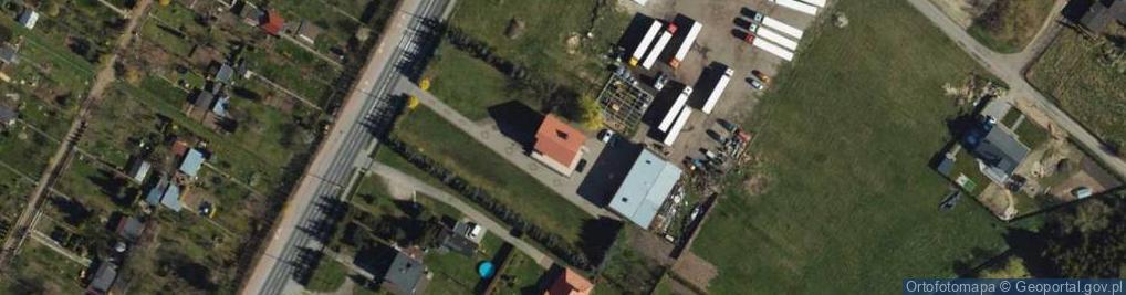 Zdjęcie satelitarne Kwidzyńska ul.