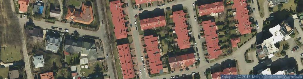 Zdjęcie satelitarne Kwitnącego Sadu ul.