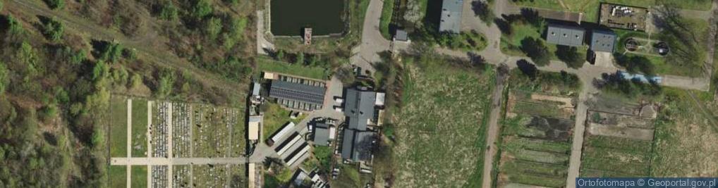 Zdjęcie satelitarne Łaszczyka Józefa ul.