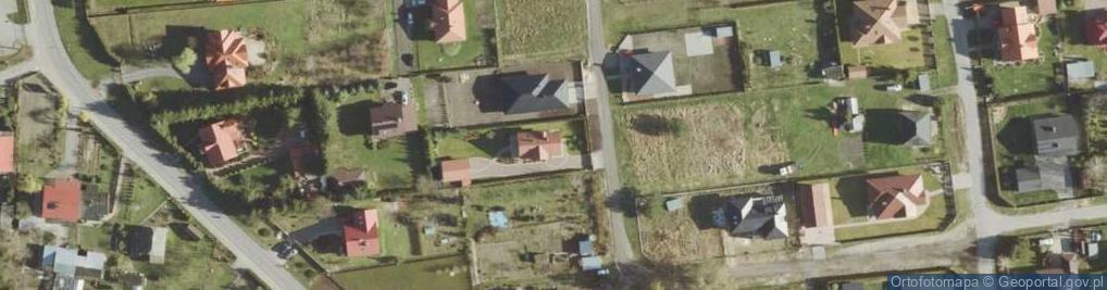 Zdjęcie satelitarne Łabędzia ul.