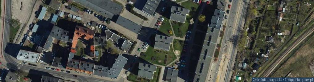 Zdjęcie satelitarne Laskowicka ul.