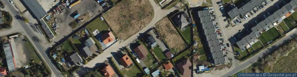Zdjęcie satelitarne Lawendowa ul.