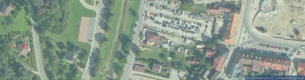 Zdjęcie satelitarne Łazarskiego Kazimierza, ks. ul.