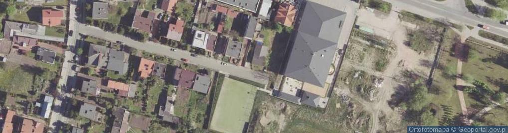 Zdjęcie satelitarne Łamana ul.