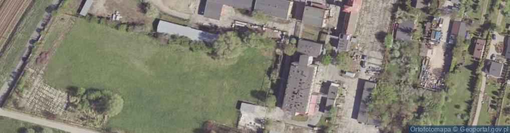 Zdjęcie satelitarne Łączna ul.