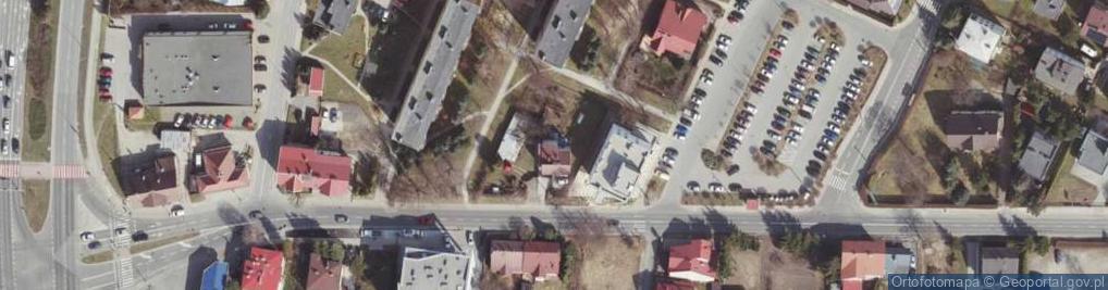 Zdjęcie satelitarne Langiewicza Mariana, gen. ul.