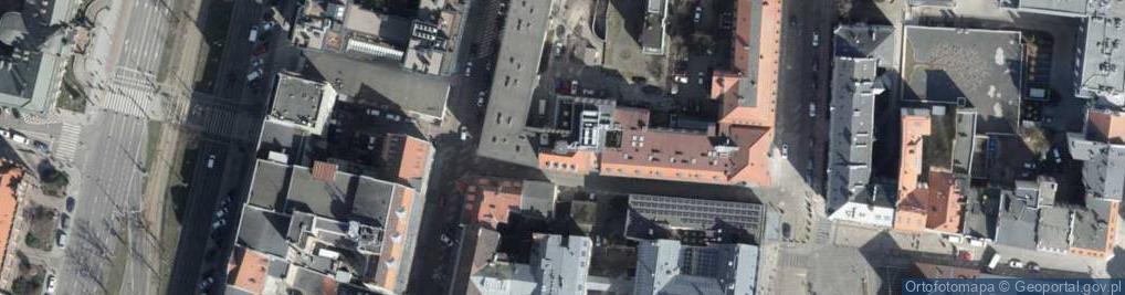 Zdjęcie satelitarne Łaziebna ul.
