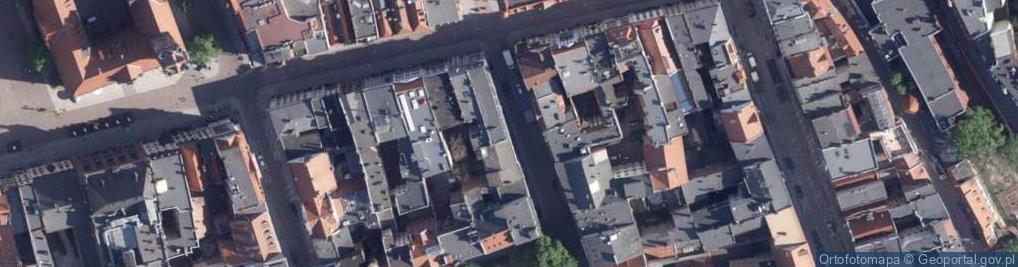 Zdjęcie satelitarne Łazienna ul.