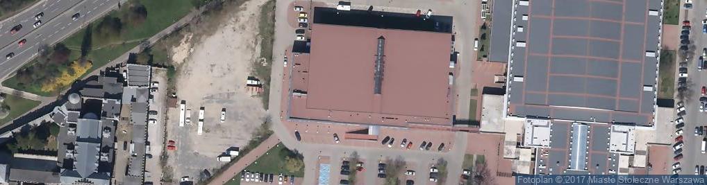 Zdjęcie satelitarne Łazienkowska ul.