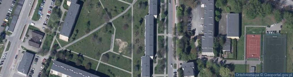 Zdjęcie satelitarne Lenartowicza Stanisława ul.