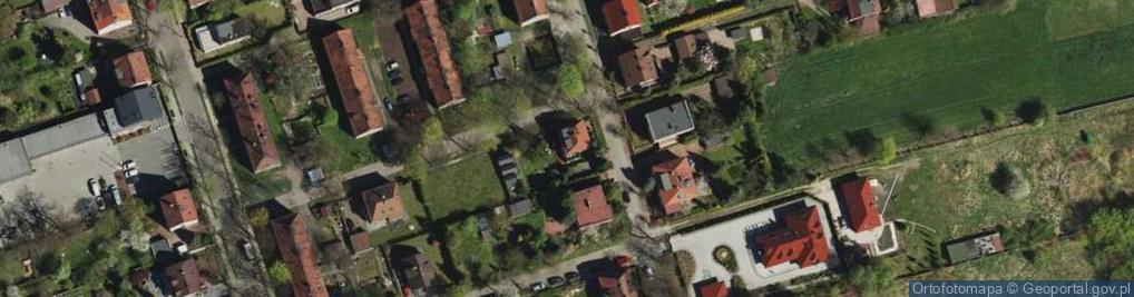 Zdjęcie satelitarne Lema Stanisława ul.