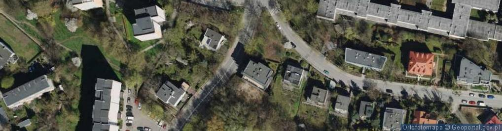 Zdjęcie satelitarne Legionów ul.