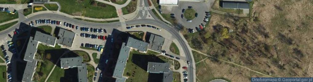 Zdjęcie satelitarne Łęgi Władysława, ks. dr. ul.