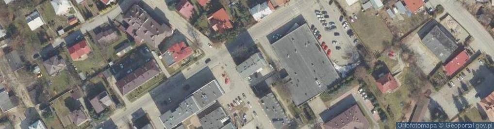 Zdjęcie satelitarne Lewakowskiego Augusta ul.