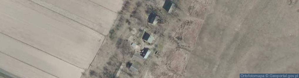 Zdjęcie satelitarne Łęg ul.