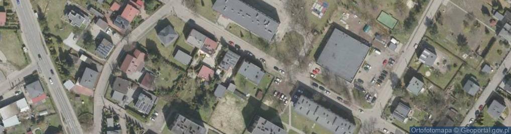 Zdjęcie satelitarne Lexa Pawła, ks. ul.