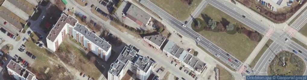 Zdjęcie satelitarne Lewakowskiego Karola ul.