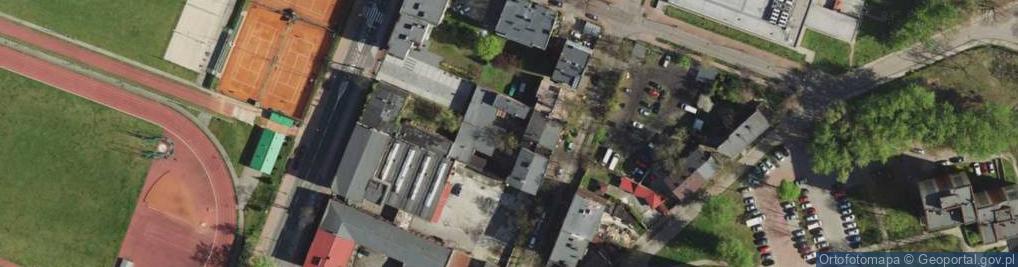 Zdjęcie satelitarne Leszno ul.
