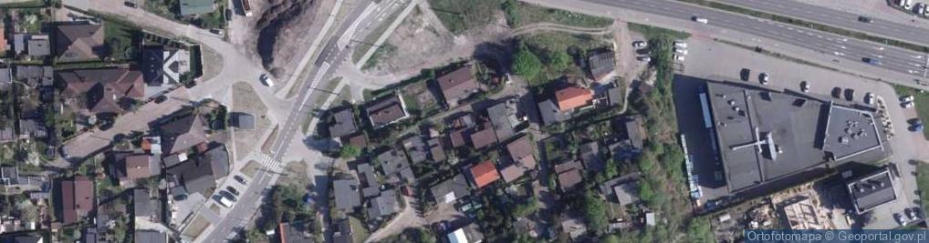 Zdjęcie satelitarne Łęgowskiego Tadeusza, kpt. ul.