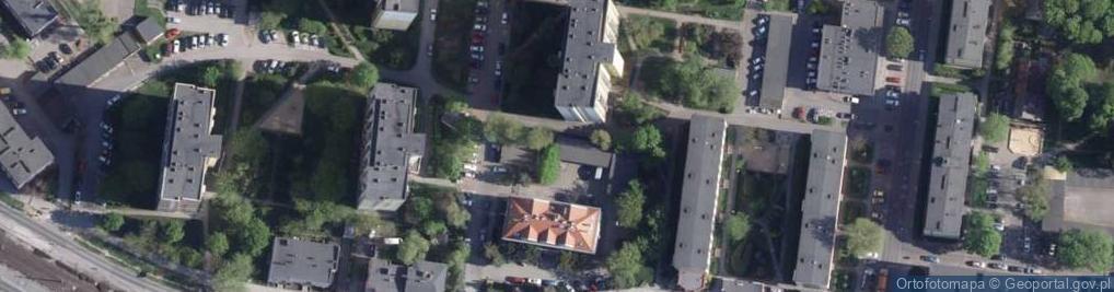 Zdjęcie satelitarne Leśna ul.