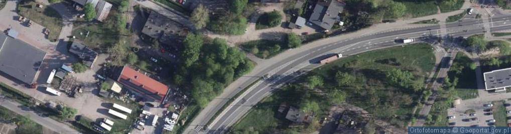 Zdjęcie satelitarne Letnia ul.
