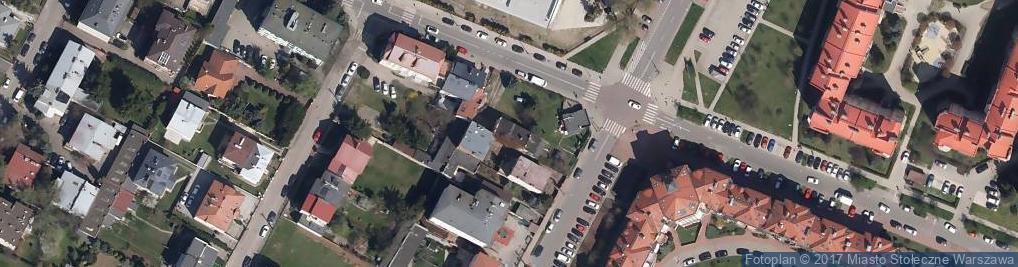 Zdjęcie satelitarne Lechicka ul.