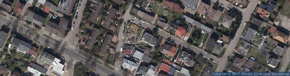 Zdjęcie satelitarne Leśniewska ul.