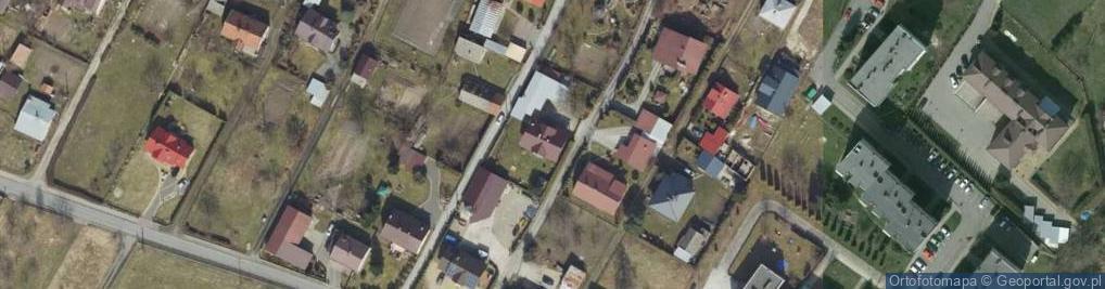 Zdjęcie satelitarne Leliwitów ul.