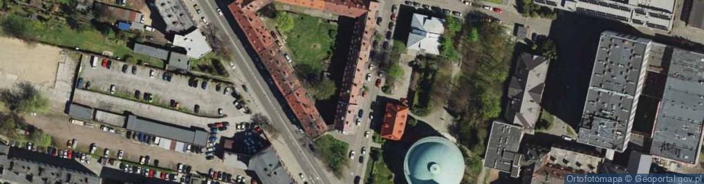 Zdjęcie satelitarne Ligonia Juliusza ul.