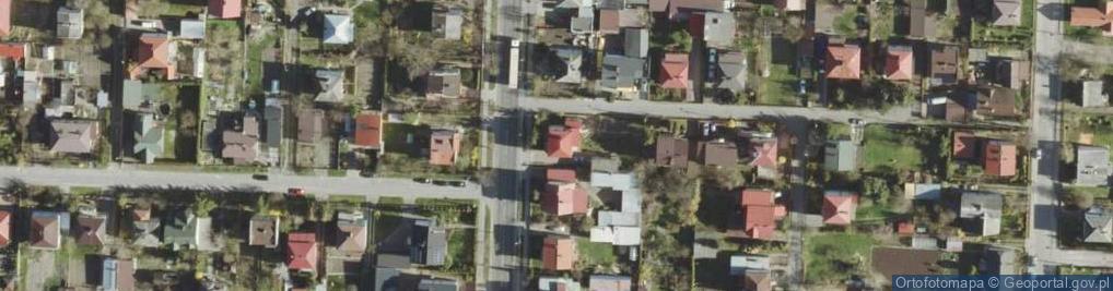 Zdjęcie satelitarne Litewska ul.