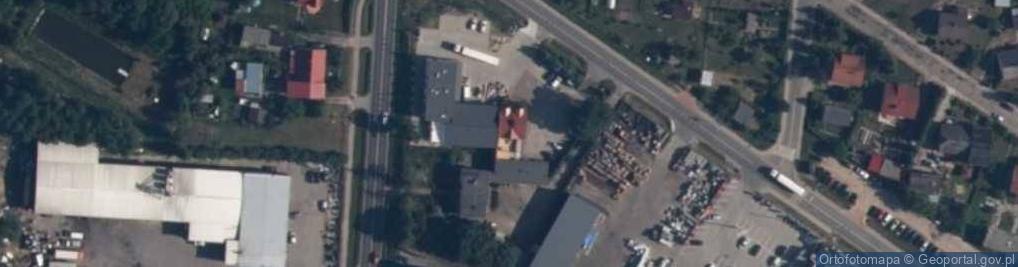 Zdjęcie satelitarne Lidzbarska ul.
