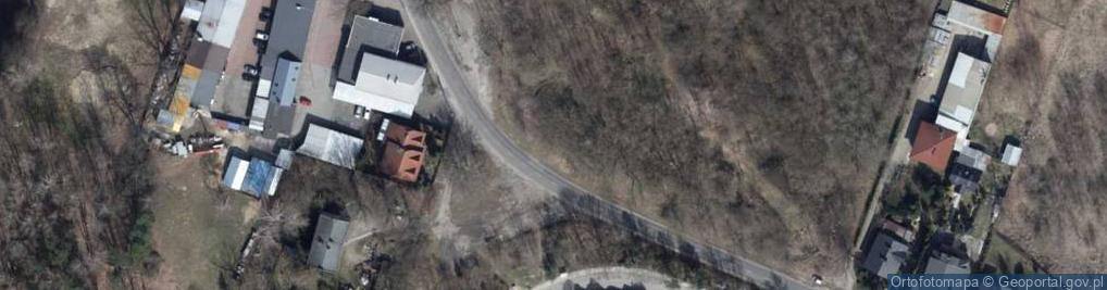 Zdjęcie satelitarne Liściasta ul.