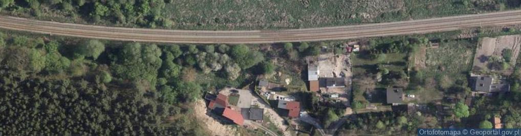 Zdjęcie satelitarne Lisia ul.