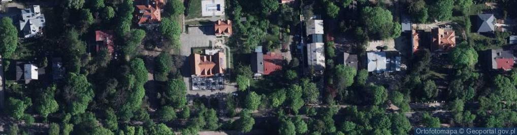Zdjęcie satelitarne Lipowa ul.