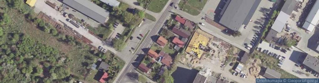 Zdjęcie satelitarne Limanowskiego Bolesława ul.