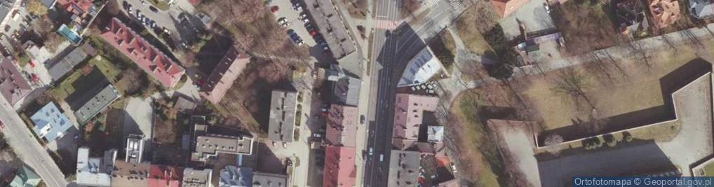 Zdjęcie satelitarne Lisa-Kuli Leopolda, płk. ul.