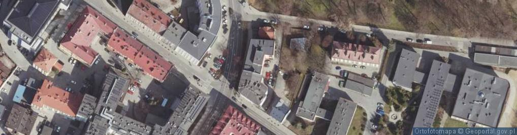 Zdjęcie satelitarne Ligęzy Spytka ul.