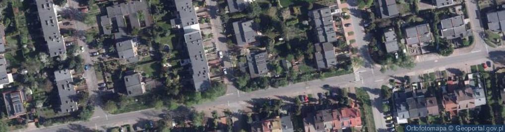 Zdjęcie satelitarne Liliowa ul.