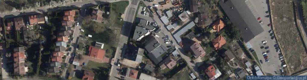 Zdjęcie satelitarne Listopadowa ul.