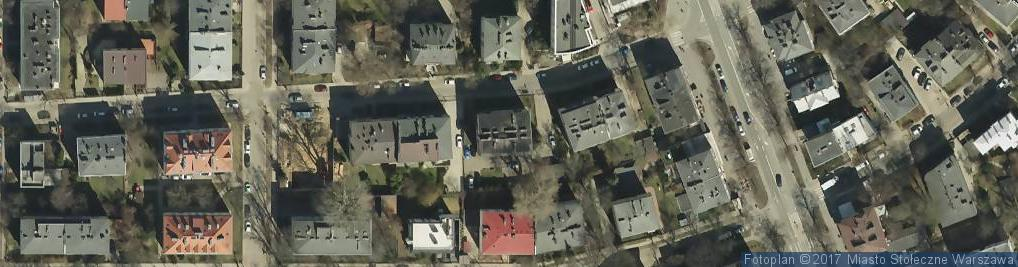 Zdjęcie satelitarne Lipska ul.