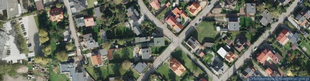 Zdjęcie satelitarne Ligenzy Romana ul.