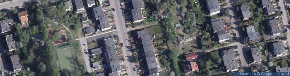 Zdjęcie satelitarne Lniana ul.